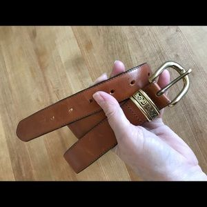 Talbots Brown Belt XL